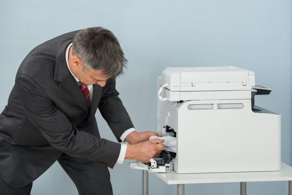 La carta si inceppa nella stampante - Unoprint